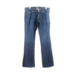 Old Navy The Diva Dark Wash Boot Cut Jeans